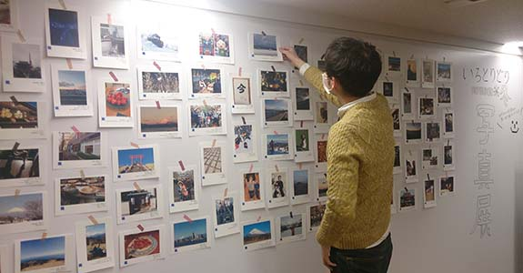 若手社員中心のプロジェクトチームが企画から運営まで担当しています。